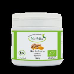 Curcum powder BIO, 100g NatVita