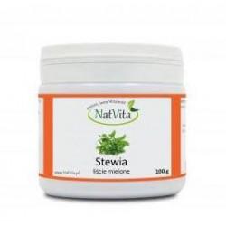 Stevia pulber, 100g NatVita