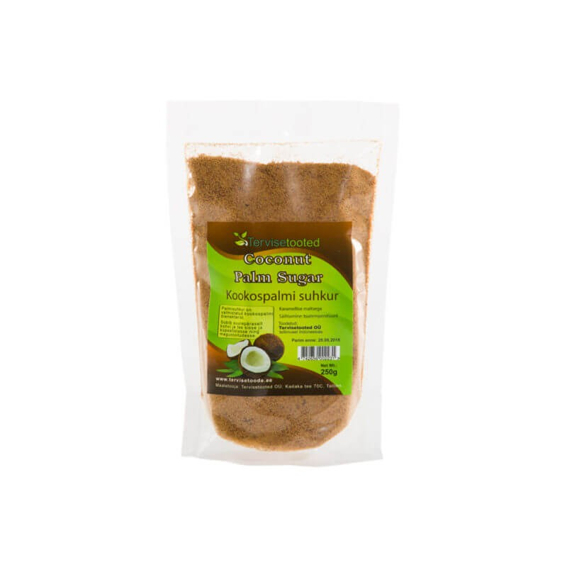 Kookospalmi suhkur 250g Tervisetooted