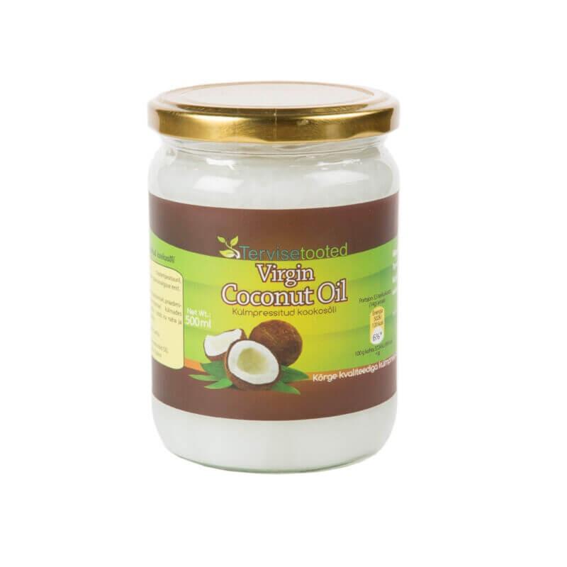 Kookosõli (külmpress) 500ml Tervisetooted