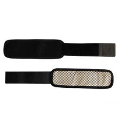 Lämmittävät rannesiteet turmaliinilla ja magneetilla 2kpl (musta) ESTONIA
