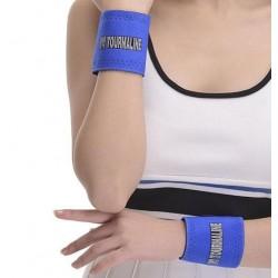 Tourmaline and magnet warming wrists 2pcs (blue) ESTONIA
