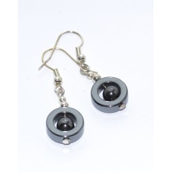 Magnetic hematite earrings ESTONIA