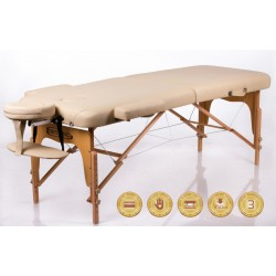 Foldable massage couch table RESTPRO® Memory 2 Beige Restpro