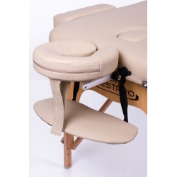 Foldable massage couch table RESTPRO® Memory 3 Beige Restpro