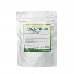 Chlorella tablet (500 pc/125g) Tervisetooted