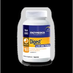 Enzymedica Digest+Live Bacteria 30 kapslit Enzymedica