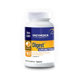 Enzymedica Digest+Live Bacteria 30 capsules Enzymedica