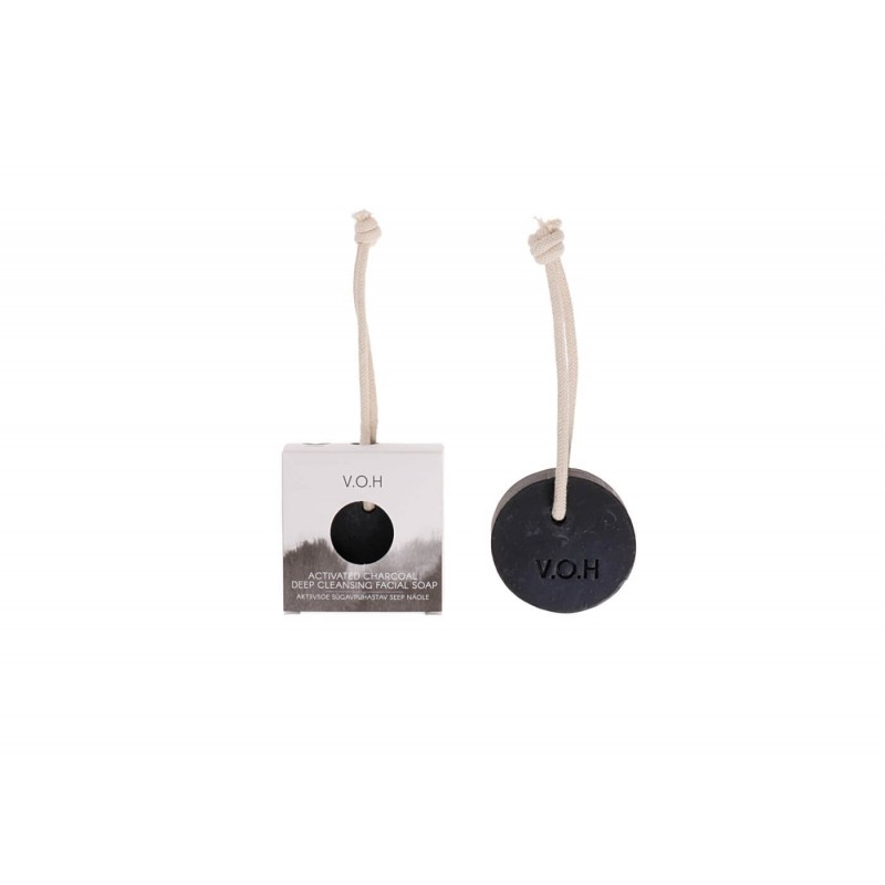 Activated Charcoal & Tea Tree · Soap on a Rope V.O.H