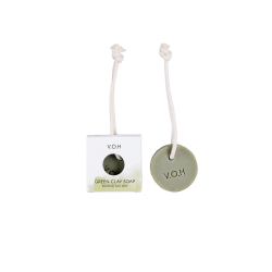 Green Clay & Bergamont Soap on a Rope V.O.H