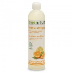 WASHING-UP LIQUID, 500ML, TEA TREE, ORANGE Greenatural