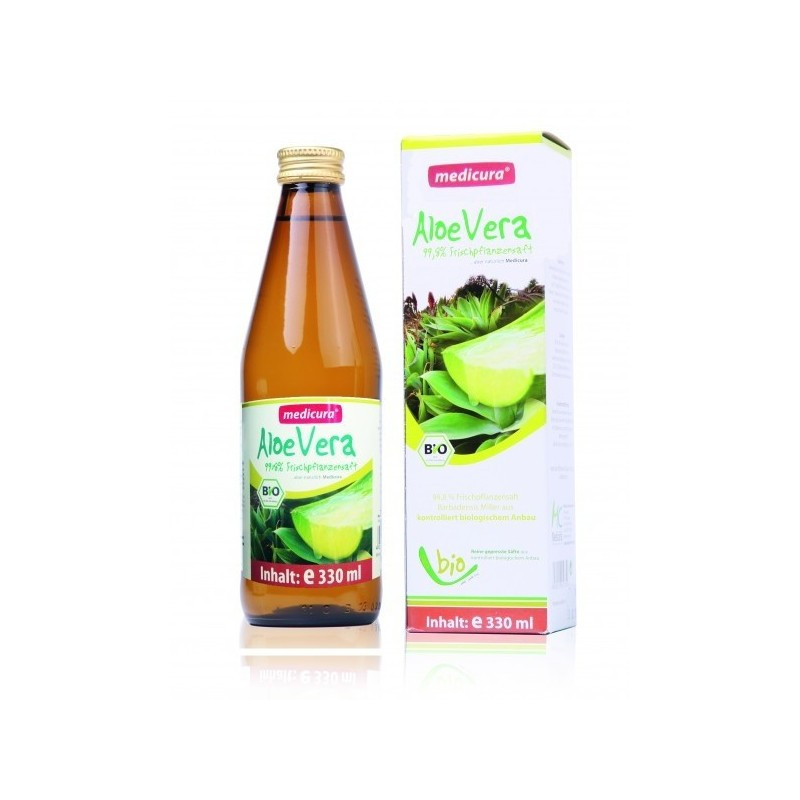 ALOE VERA JUICE, 330ML MEDICURA
