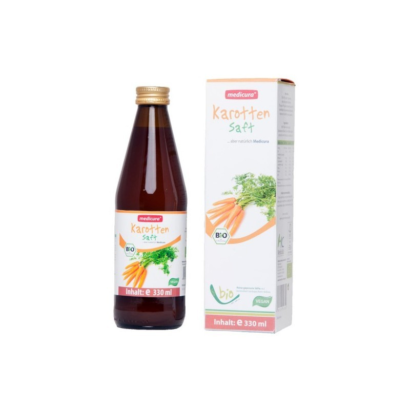 CARROT JUICE, 330ML MEDICURA