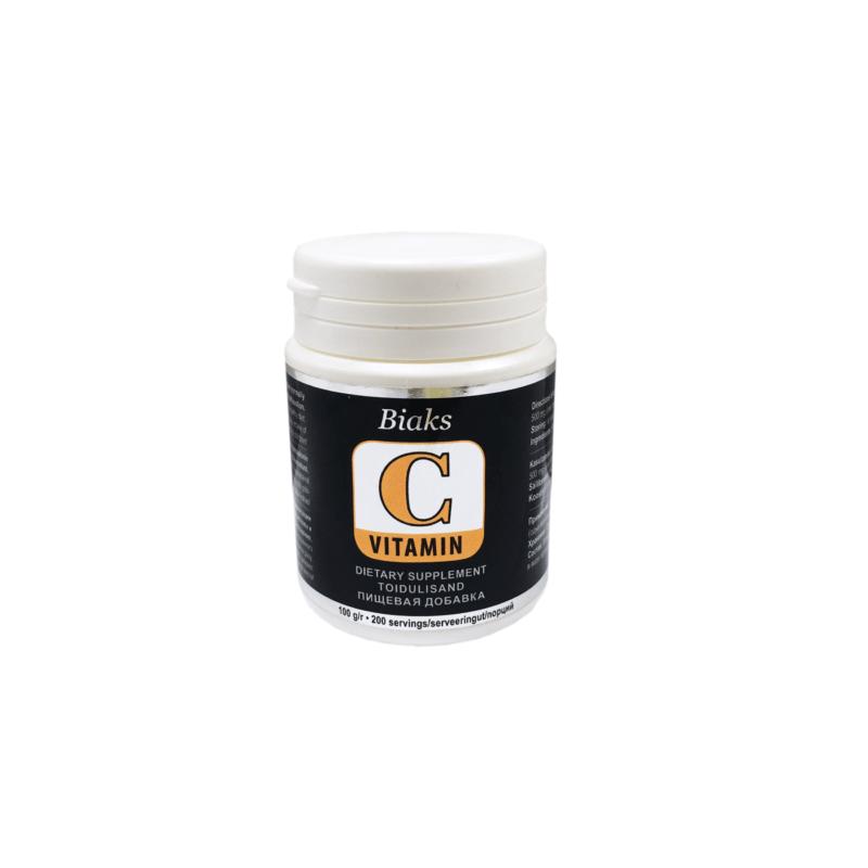 C- Vitamiin, 100g BIAKS