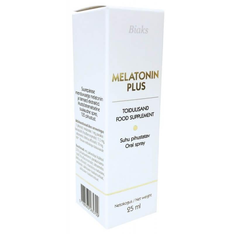 Melatonin Plus Spray, 25ml BIAKS