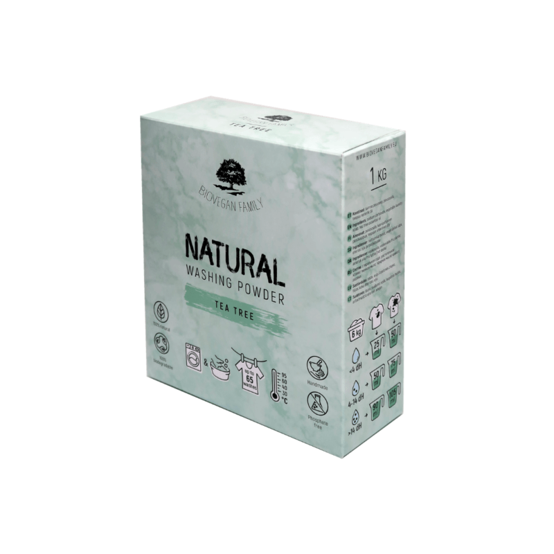 Washing Powder TEATREE1kg BioVeganFamily