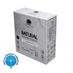Pyykinpesujauhe HAJUSTEETON 1kg BioVeganFamily