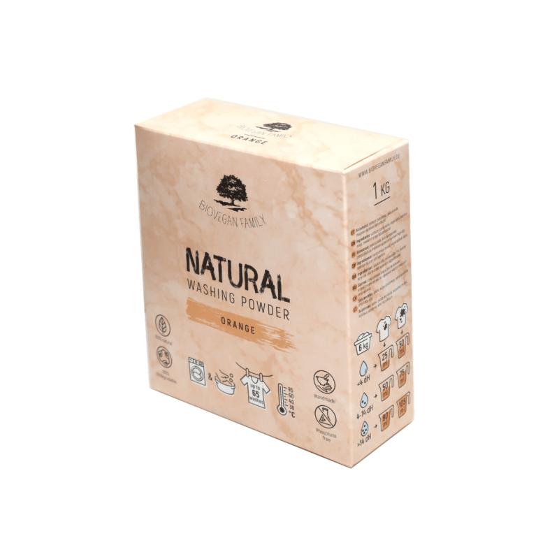 Pesupulber APELSIN 1kg BioVeganFamily