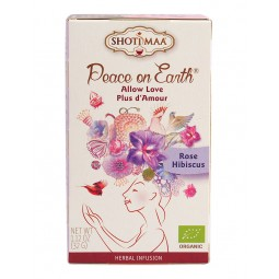 "Tee ""Allow Love"", Ruusu-hibiscus 16 x 1,8g SHOTIMAA"
