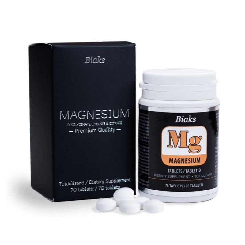 Magnesium, tablets 59,5g BIAKS