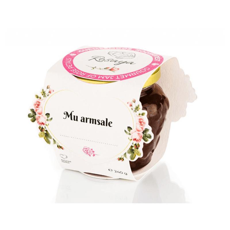 Gourmet jam of Rose petals 240g ROSAYA