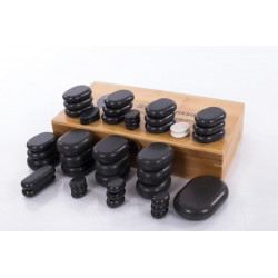 Lava sotne massage stone - 45 pc Restpro