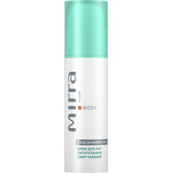 NOURISHING AND SOFTENING FOOT CREAM WITH DEODORANT EFFECT MIRRA