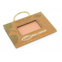 COMPACT POWDER NR. 22- PEARLY GOLDEN BEIGE COULEUR CARAMEL