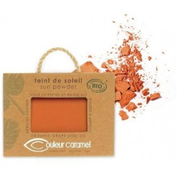 COMPACT POWDER NR. 25- Pearly Orange Brown COULEUR CARAMEL