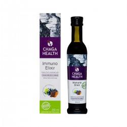 Immuno Elixir Chaga & Blackcurrant 250ml ORGANIC CHAGA HEALTH