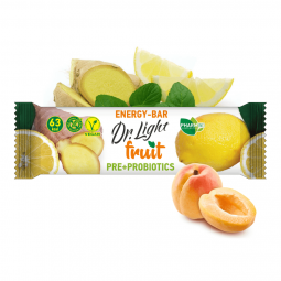 Dr. Light Fruit ENERGY - BAR (30g) PRE + PROBIOTICS PHARMIND
