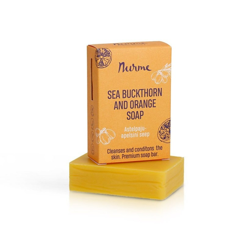 Sea Buckthorn & Orange Soap 100g Nurme Looduskosmeetika