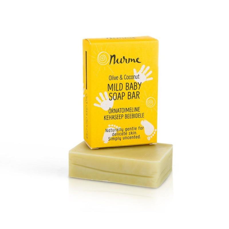 Mild Baby Soap Bar 100g Nurme Looduskosmeetika