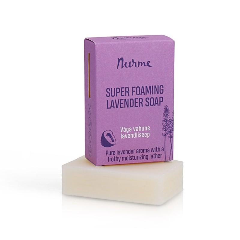 Super foaming lavender soap 100g Nurme Looduskosmeetika