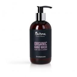 Organic Hand Wash Clary Sage & Lavender 250ml Nurme Looduskosmeetika