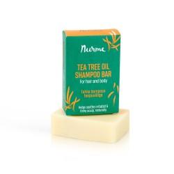 Shampoopala teepuuöljyllä 100g Nurme Looduskosmeetika