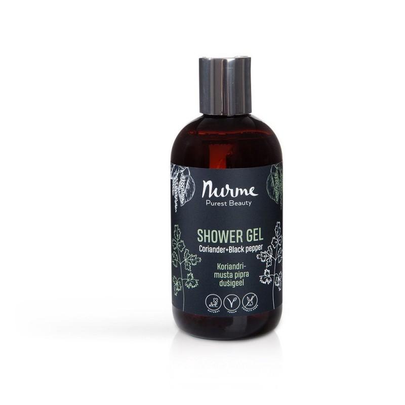 Dušigeel koriander ja must pipar 250ml Nurme Looduskosmeetika