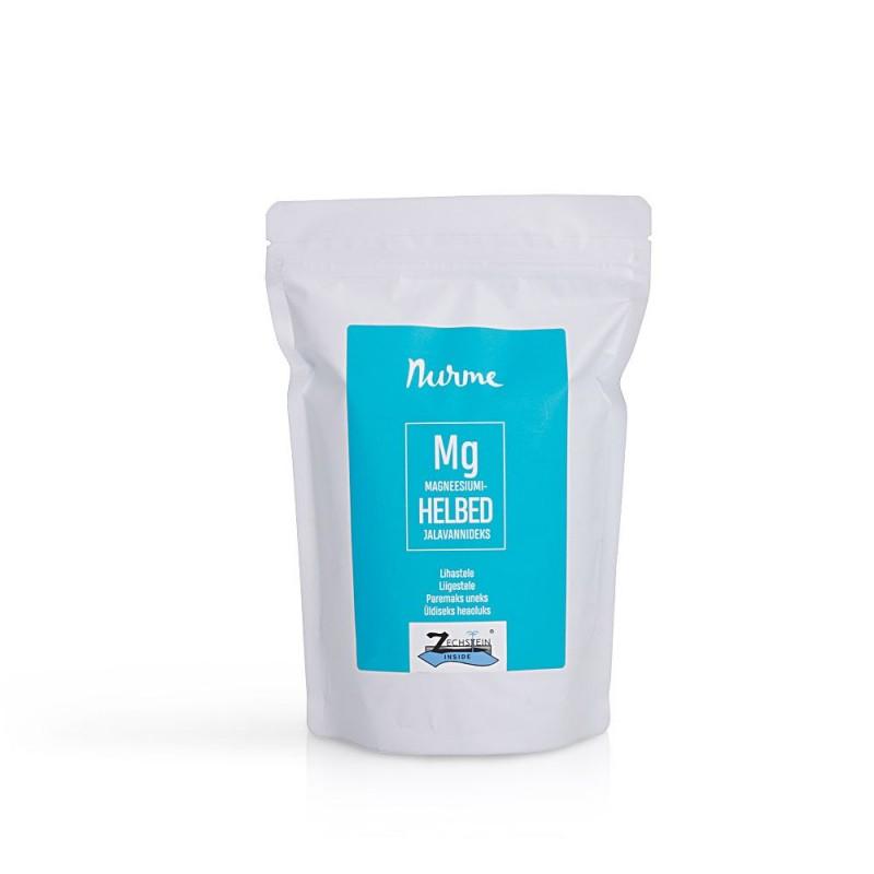 Magnesiumjalkakylpyhiutaleet 700 g Nurme Looduskosmeetika