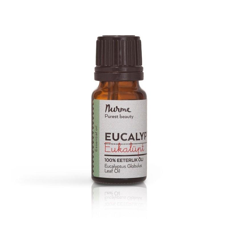 Eukalüpt eeterlik õli 10 ml Nurme Looduskosmeetika