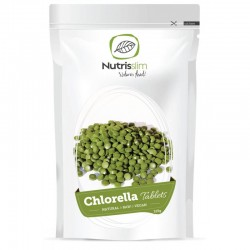 CHLORELLA TABLETS, 125G / DIETARY SUPPLEMENT NATURE'S FINEST BY NUTRISSLIM