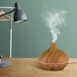 Difuuser – õhuniisutaja – õhu aromisaator, puldiga, hele puit Vitaest Baltic OÜ