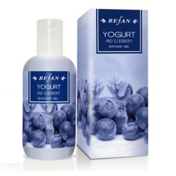 Dušigeel – Jogurt ja Leedrimarjad, 200ml Refan