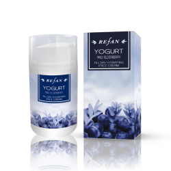 FACE CREAM YOGURT AND ELDERBERRY, 50ml Refan
