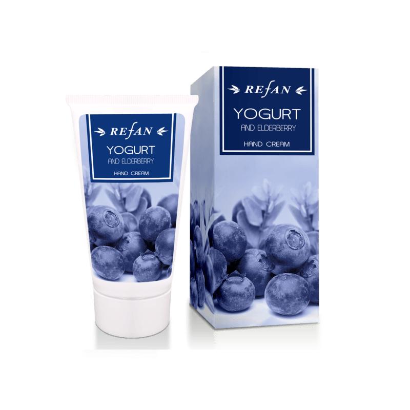 Yogurt and Еlderberry Hand cream, 75ml Refan