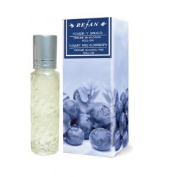 Alkoholivaba parfüüm – roll-on Jogurt ja Leedrimarjad, 10 ml Refan