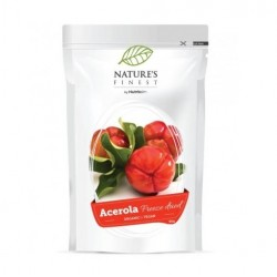 ACEROLA FRUIT POWDER, FREEZE-DRIED, 60G / DIETARY SUPPLEMENT NATURE'S FINEST BY NUTRISSLIM