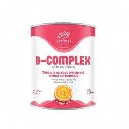 B COMPLEX, 150 G / DIETARY SUPPLEMENT NATURE'S FINEST BY NUTRISSLIM