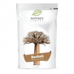 BAOBAB POWDER, 125G / DIETARY SUPPLEMENT NATURE'S FINEST BY NUTRISSLIM