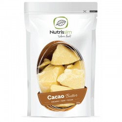 RAW COCOA BUTTER 250G NATURE'S FINEST BY NUTRISSLIM