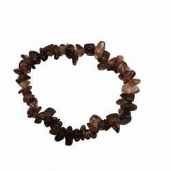 Smoky quartz bracelet from chips A-class Vitaest Baltic OÜ
